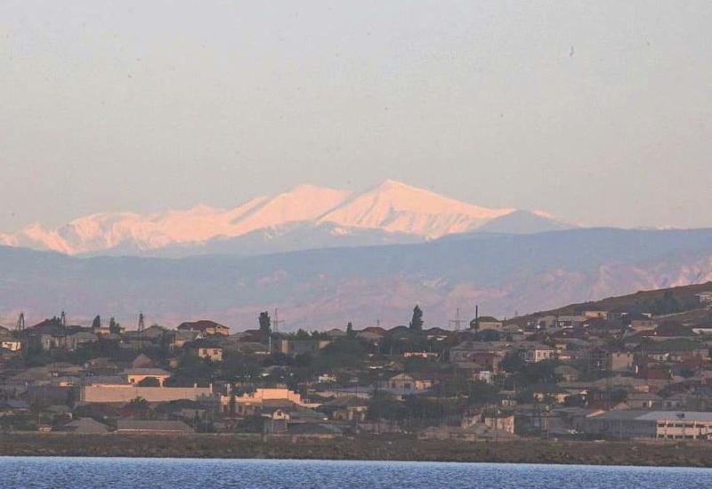 Невероятная ясность - Из Баку стала видна гора Бабадаг