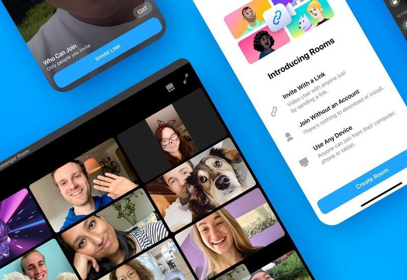 Facebook запустила сервис для видеоконференций Messenger Rooms