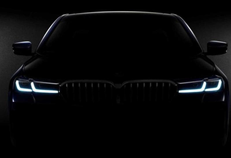 """BMW впервые показало изображение обновленной """"пятерки"""""""
