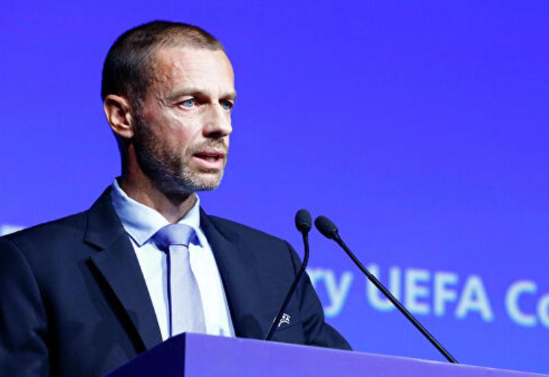 Глава УЕФА считает решение о завершении Лиги 1 преждевременным