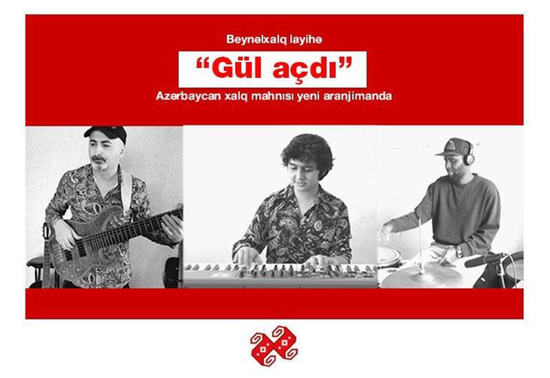 Музыканты из Азербайджана и Дании исполнили народную песню Gül açdı
