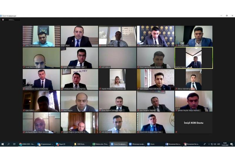 Агентство по развитию МСБ Азербайджана проводит с предпринимателями онлайн-встречи