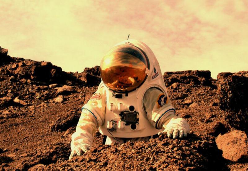 На Марсе нашли пригодное место для жизни человечества