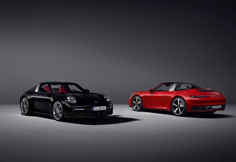 Porsche представила 911 Targa