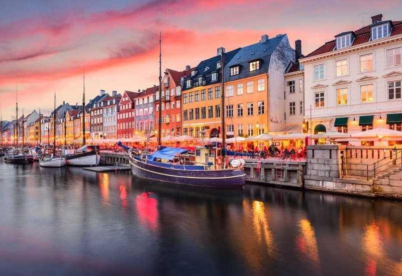 В Копенгагене появилась стена Кристиана Эриксена