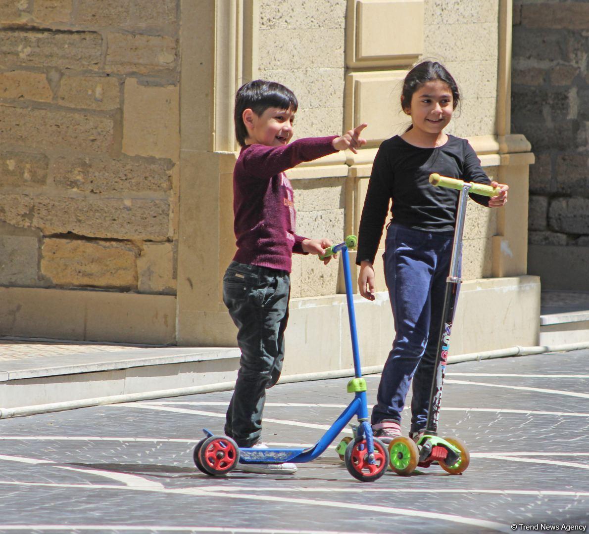 Баку после смягчения режима карантина
