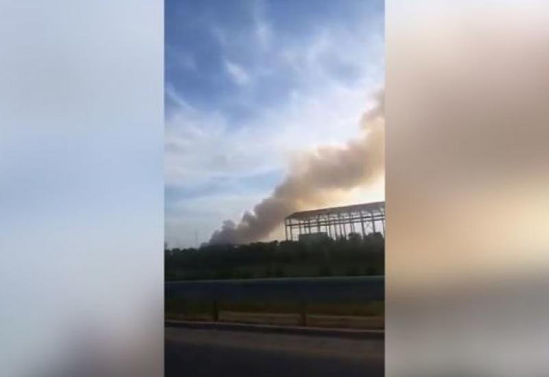 В Сумгайыте на полигоне бытовых отходов произошел пожар