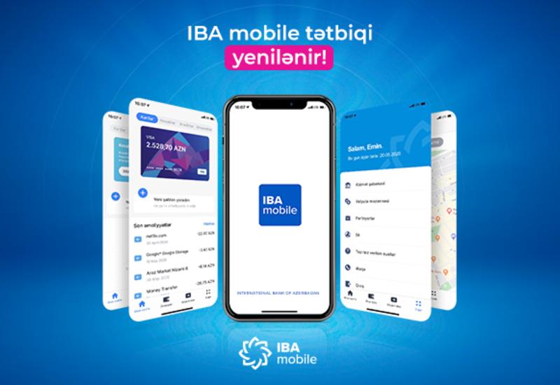 Международный Банк Азербайджана поэтапно обновляет приложение IBA Mobile (R)