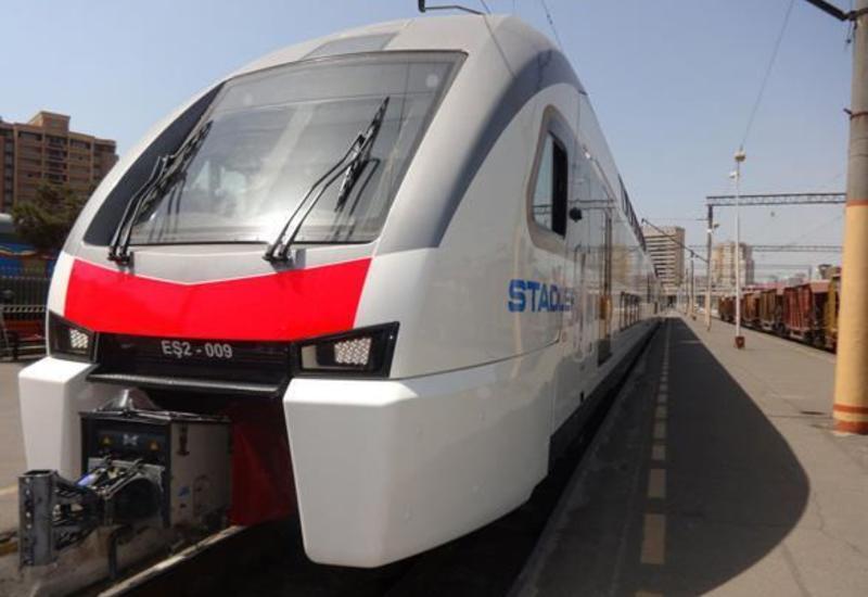 Stadler готова участвовать в дополнительных поставках вагонов в Азербайджан
