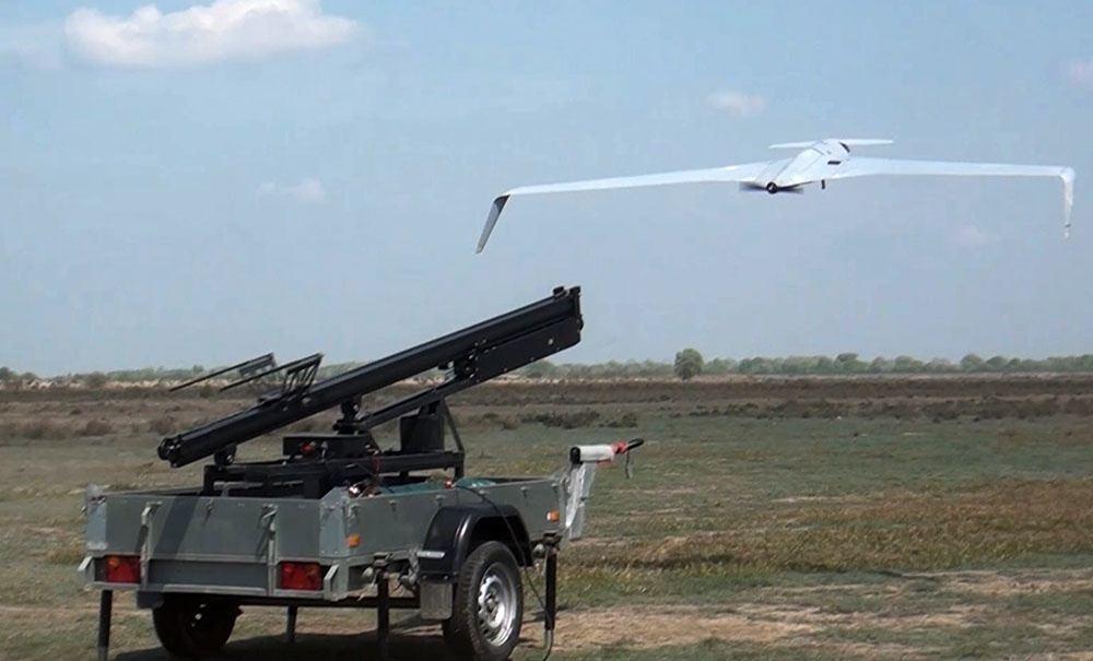 Азербайджанская армия отрабатывает беспилотную разведку
