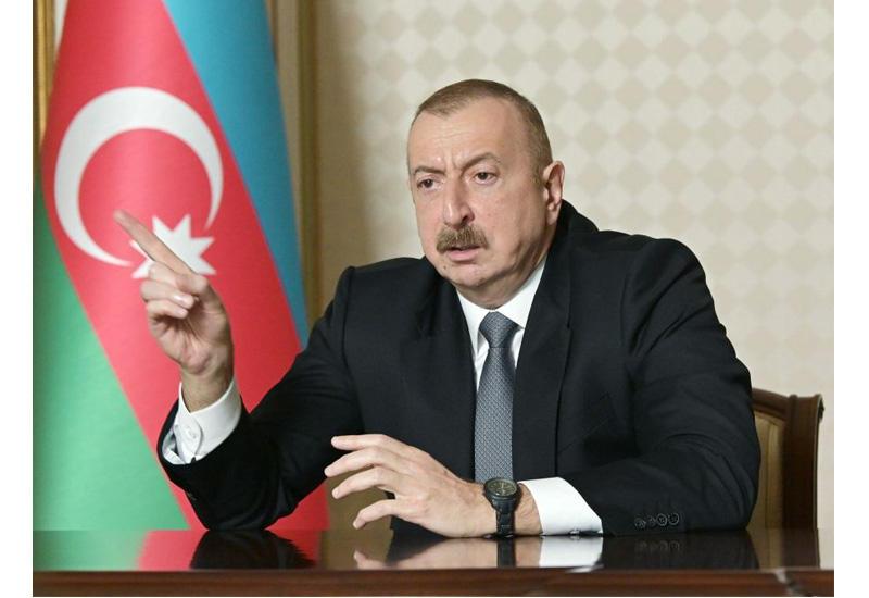 Президент Ильхам Алиев: Зариться на деньги бедных – это бессовестность и преступление