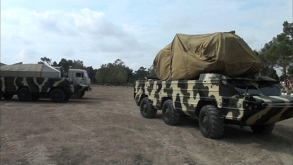 Подразделения ПВО заняли позиционные районы