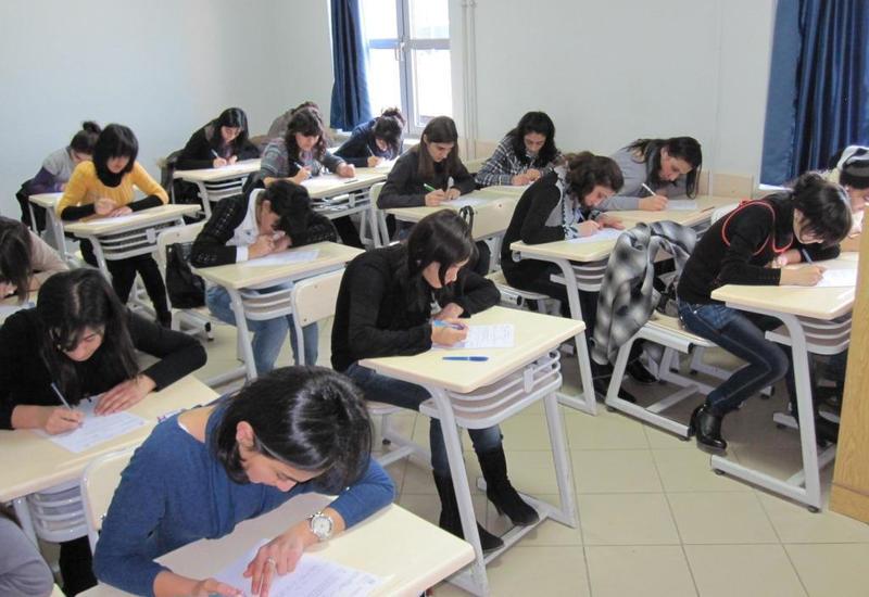 Названо число абитуриентов, которые примут участие в экзамене по азербайджанскому языку
