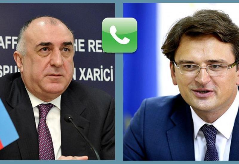 Между главами МИД Азербайджана и Украины состоялся телефонный разговор