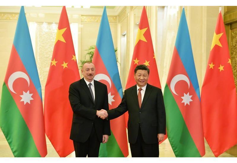 Си Цзиньпин поздравил Президента Ильхама Алиева