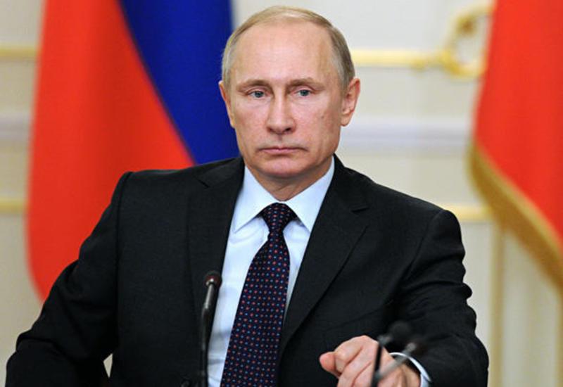 Владимир Путин поздравил Президента Ильхама Алиева