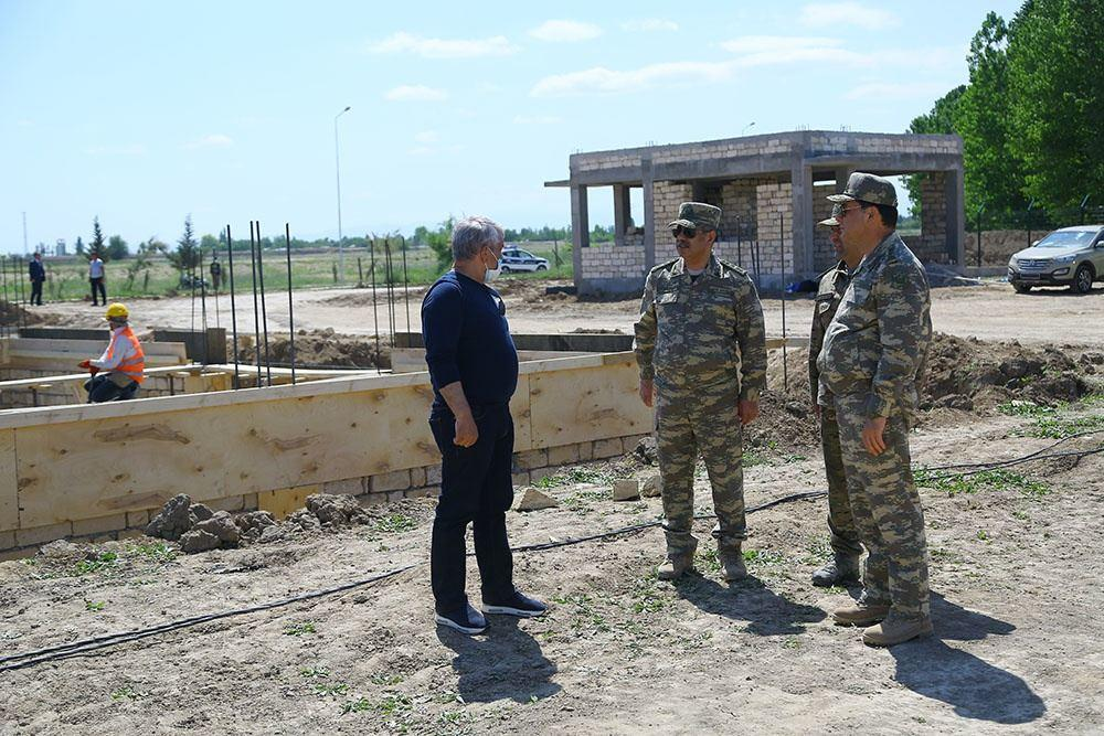 В Азербайджане открыли новые прифронтовые воинские части