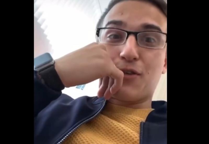 Заложник снял на видео первые минуты после захвата отделения банка в Москве