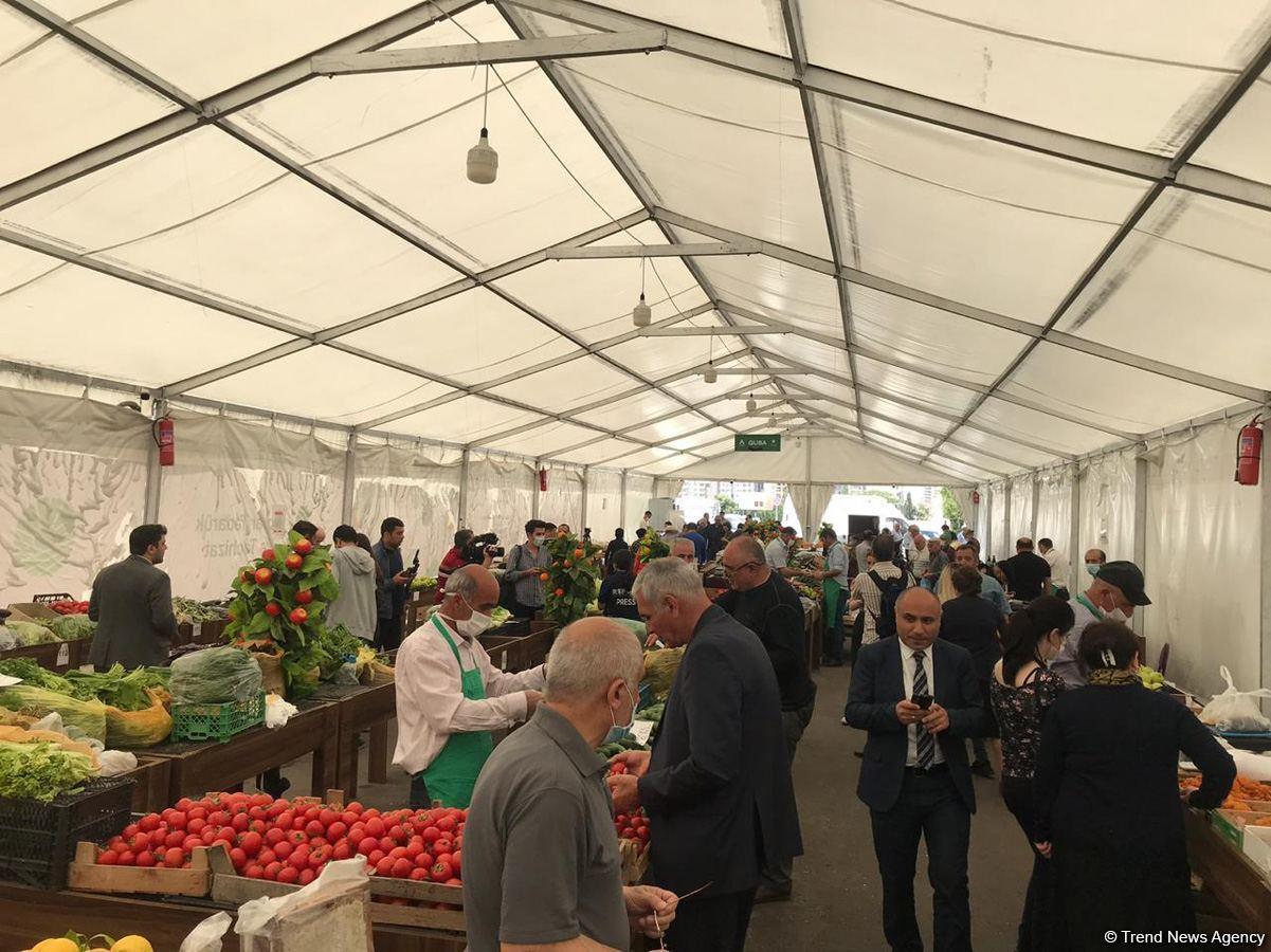 В Баку открылись праздничные ярмарки