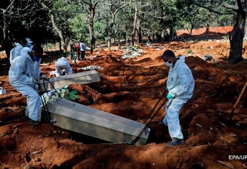 В Бразилии резкий рост смертей от COVID-19