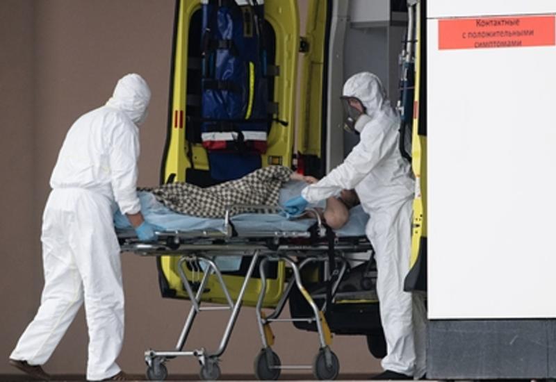 В России зафиксировали 8599 новых случаев заражения коронавирусом