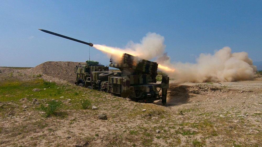 В войсках Нахчыванского гарнизона завершились командно-штабные учения