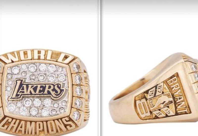 Чемпионский перстень Коби Брайанта продан на аукционе за $206 тыс.