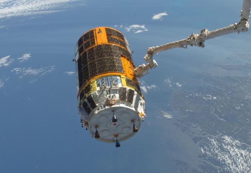 Японский космический грузовик состыковался с МКС