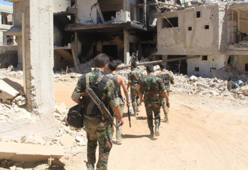 Сирийские войска уничтожили банду террористов на юго-западе провинции Ракка