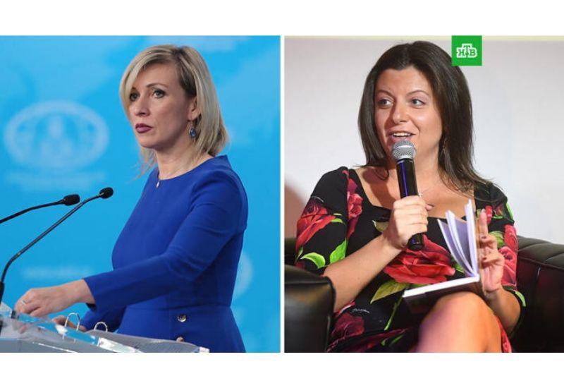 Кремль меняет Маргариту Симоньян на Марию Захарову