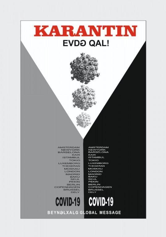 В Азербайджане представлена виртуальная выставка в поддержку борьбы с COVID-19