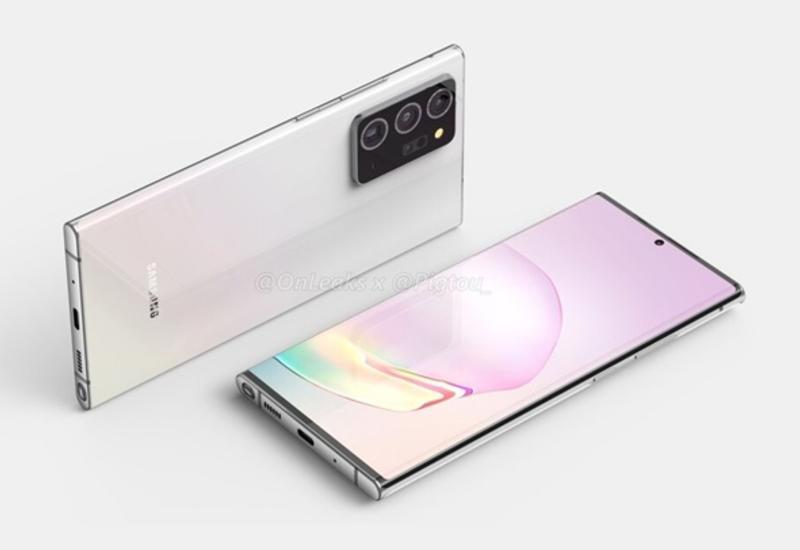 Samsung Galaxy Note 20+ рассекретили до премьеры