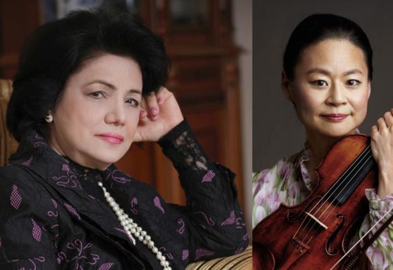 Всемирно известная Мидори Годо исполнила произведение азербайджанского композитора