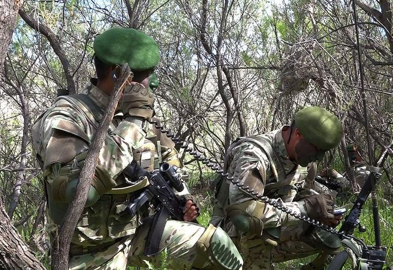 В Отдельной общевойсковой армии Нахчывана прошли соревнования среди разведчиков
