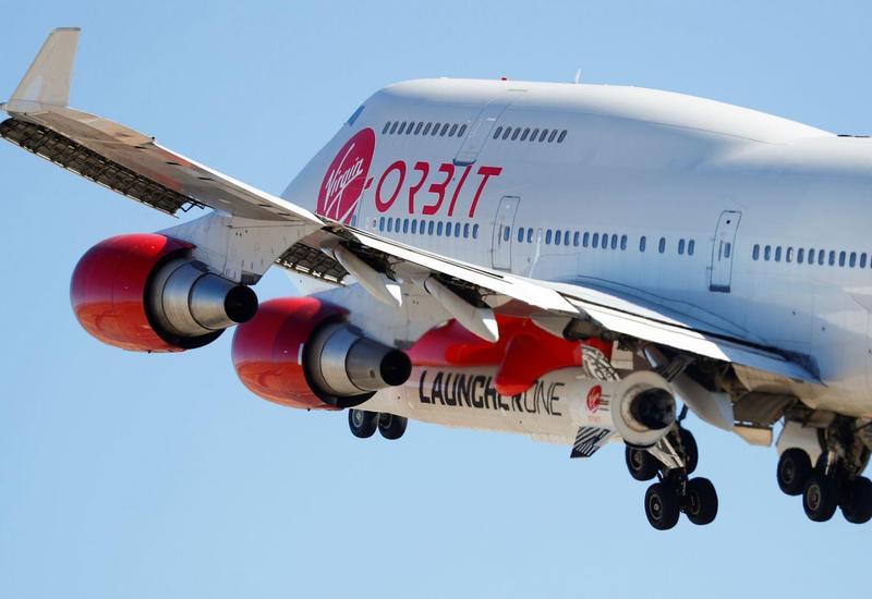 Virgin Orbit начала испытания системы воздушного запуска ракеты