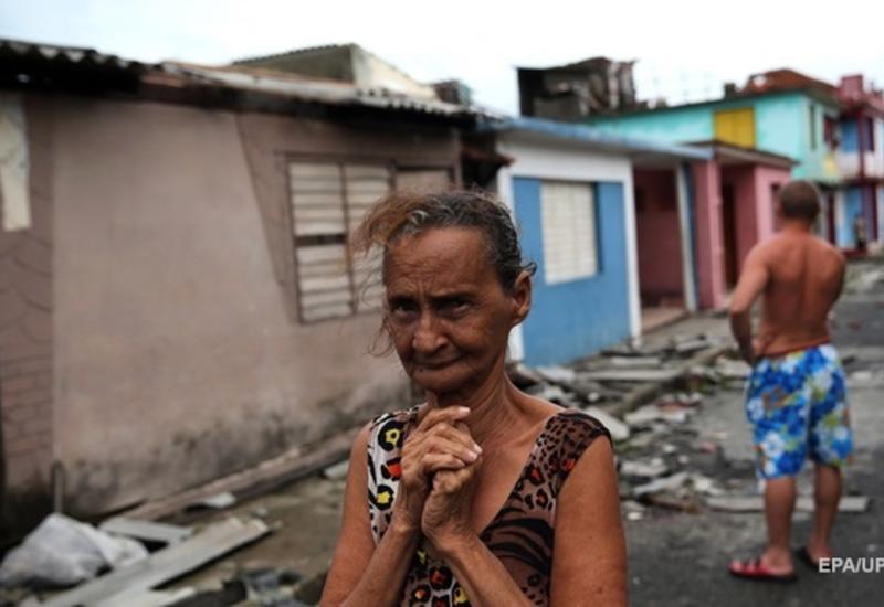 На Кубу обрушились штормы, ливни и торнадо