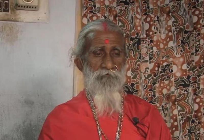 Проживший более 70 лет без еды и воды йог скончался в Индии
