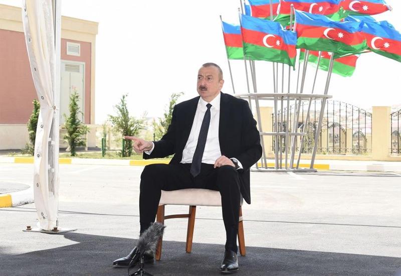 Президент Ильхам Алиев: Я абсолютно уверен в том, что Азербайджан восстановит свою территориальную целостность, есть много факторов, позволяющих говорить это