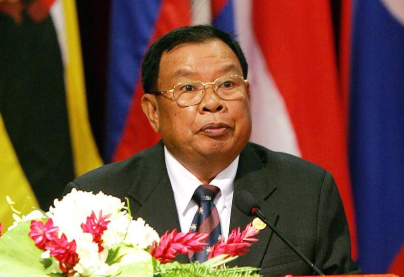 Президент Лаосской Народно-Демократической Республики поздравил Президента Ильхама Алиева