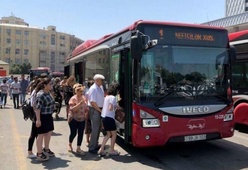 Некоторых пассажиров не будут пускать в автобусы в Баку