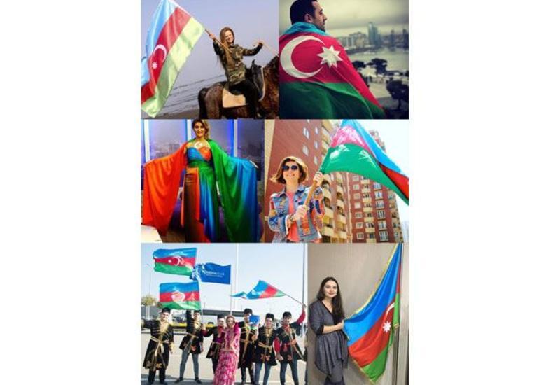 Медийные личности Азербайджана и других стран поздравляют с Днем Республики