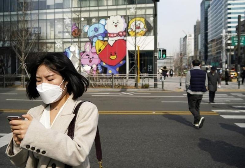 В Южной Корее зафиксирован рекорд инфицированных COVID-19 с начала апреля