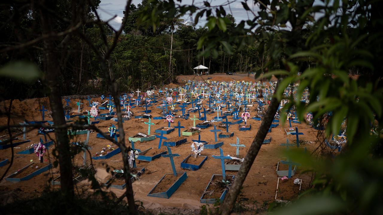 На первом месте: как Бразилия переживает коронавирус