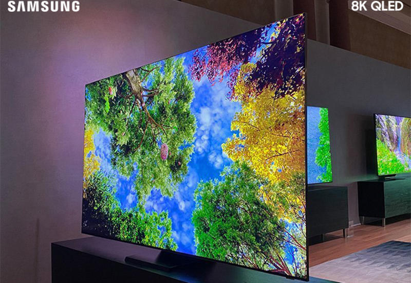 Samsung QLED 8K – идеальное изображение в утонченном дизайне (R)