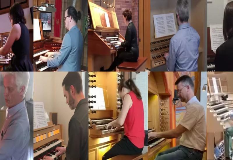 Музыканты из разных стран мира исполнили Гимн Азербайджана на органе