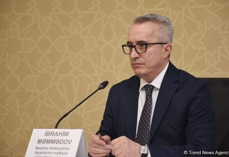 Ибрагим Мамедов: Организация свадеб видится проблематично