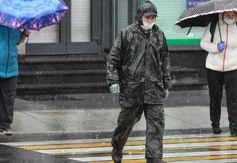 На Москву обрушился страшный ливень