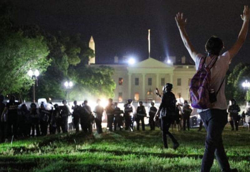 Секретная служба задержала простестующих у Белого дома