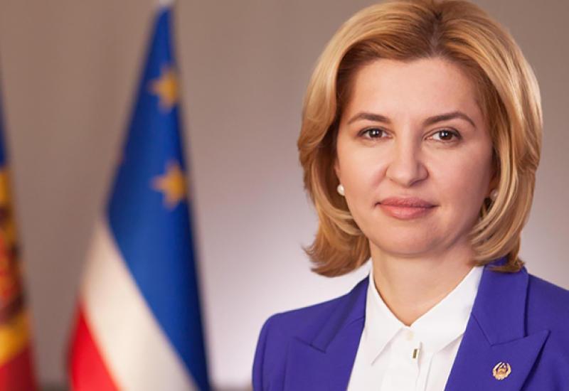 Ирина Влах поздравила Президента Ильхама Алиева