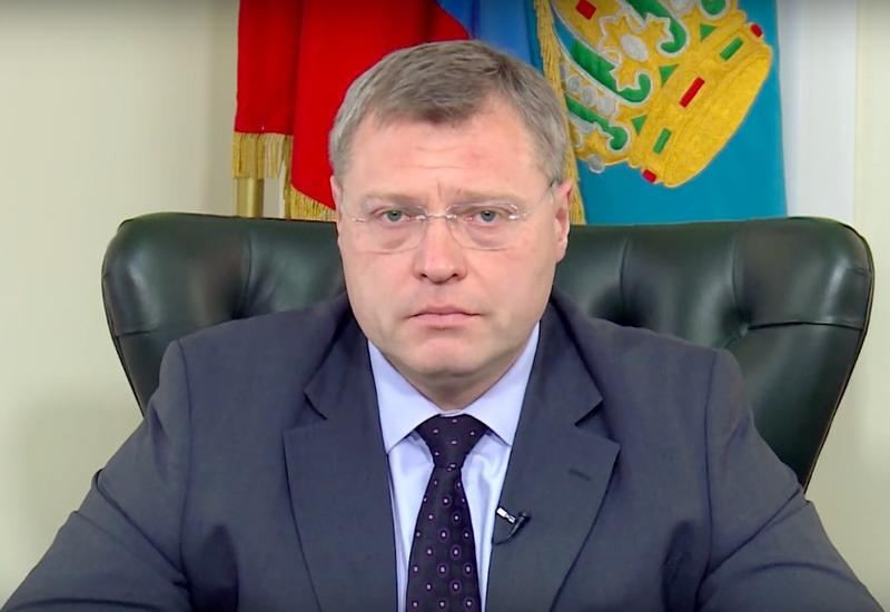 Губернатор Астраханской области РФ Игорь Бабушкин поздравил Президента Ильхама Алиева